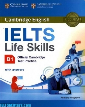کتاب Cambridge English IELTS Life Skills B1+CD