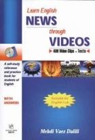 کتاب زبان Learn English NEWS Through VIDEOS