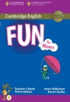کتاب زبان Fun for Movers Teacher's Book Third Edition