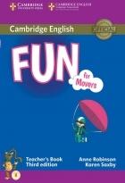 کتاب زبان Fun for Movers Teacher's Book Third Edition
