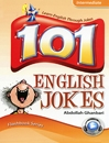 کتاب زبان 101 English Jokes Intermediate with CD
