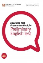 کتاب زبان Speaking Test Preparation Pack for Preliminary English test