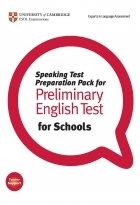 کتاب زبان Speaking Test Preparation Pack for Preliminary English test for Schools