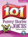 کتاب زبان 101 Funny Stories & Jokes Intermediate With CD