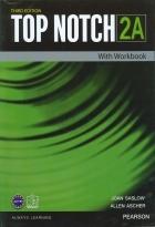 کتاب آموزشی تاپ ناچ ویرایش سوم Top Notch 2A with Workbook Third Edition