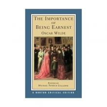 کتاب زبان The Importance of Being Earnest-Norton Critical