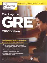 کتاب زبان Cracking the GRE with 4 Practice Tests 2017+DVD
