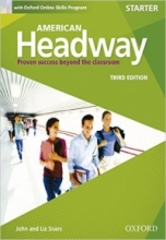 کتاب آموزشی امریکن هدوی American Headway Starter Third Edition