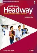 کتاب آموزشی امریکن هدوی American Headway 1 (3rd) SB+WB+CD