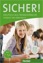 کتاب SICHER ! C1.1 LEKTION 1-6 KURSBUCH UND ARBEITSBUCH + CD