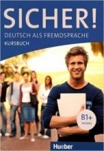 کتاب آلمانی زیشر sicher! (B1+) deutsch als fremdsprache niveau lektion 1-8 kursbuch + arbeitsbuch