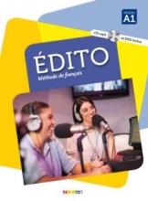 کتاب فرانسوی Edito 1 niv.A1 + Cahier + DVD