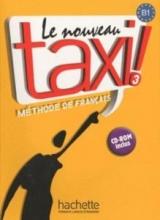 کتاب زبان le nouveau taxi 3 livre de l'eleve B1+ cahier d'exercices + dvd