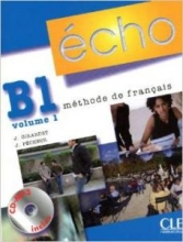 کتاب زبان echo b1 volume 1 methode de francais+ cahier + cd