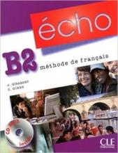 کتاب زبان echo B2 LIVRE + CAHIER + CD