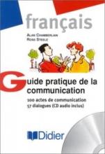 کتاب زبان guide pratique de la communication 100 actes de communication 57 dialogues cd audio