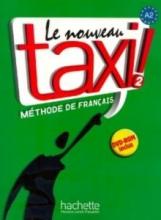 کتاب زبان le nouveau taxi 2 livre de l'eleve A2+ cahier d'exercices + dvd