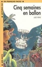 کتاب زبان en francais facile 1 cinq semaines en ballon