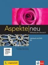 کتاب آلمانی اسپکته جدید Aspekte neu B2 mittelstufe deutsch lehrbuch + Arbeitsbuch mit audio-cd DVD