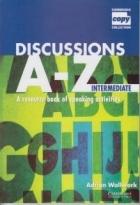 کتاب زبان Discussions A – Z Intermediate