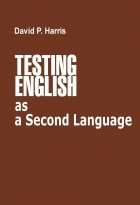 کتاب زبان Testing English as a Second English