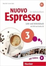 کتاب ایتالیایی اسپرسو Nuovo Espresso 3 (Italian Edition): Libro Studente B1+DVD