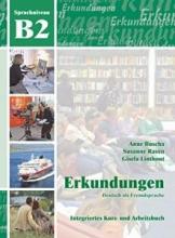 کتاب آلمانی ارکوندونگن Erkundungen: Kurs- Und Arbeitsbuch B2 + CD
