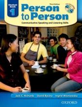 کتاب زبان Person to Person 1 (3rd)+CD