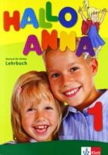 کتاب زبان Hallo Anna 1: Lehrbuch + Arbeitsbuch + CD