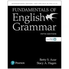 کتاب گرامر Fundamentals of English Grammar 5th Edition with CD بتی آذر مشکی