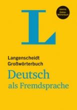 کتاب زبان Langenscheidt Großwörterbuch Deutsch als Fremdsprache اورجینال