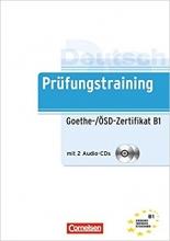 کتاب آلمانی آزمانی گوته Prufungstraining Daf: Goethe-/Osd-Zertifikat B1 + CD