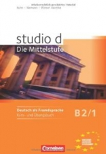 کتاب زبان Studio d - Die Mittelstufe B2/1: Kurs- und Ubungsbuch