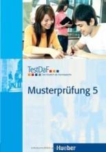 کتاب زبان TestDaF Musterprüfung 5 MIT Audio-CD