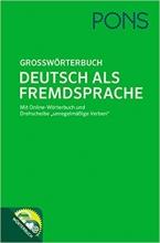 کتاب زبان Pons Grossworterbuch Deutsch Als Fremdsprache