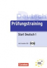 کتاب زبان (Prufungstraining Daf: Start Deutsch 1 (A1
