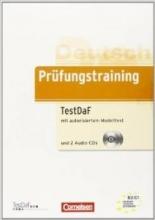 کتاب زبان Prüfungstraining DaF B2-C1 - TestDaF Ubungsbuch mit autorisiertem Modelltest und CDs