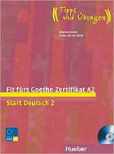 کتاب زبان Fit fürs Goethe-Zertifikat A2: Start Deutsch 2