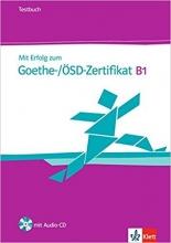 کتاب زبان MIT Erfolg Zum Goethe-Zertifikat: Testbuch B1 MIT CD
