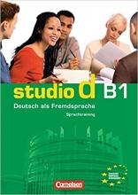 کتاب زبان آلمانی اشتودیو دی (Studio d: Sprachtraining B1 (SB+WB+DVD