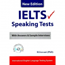 کتاب زبان IELTS Speaking Tests ایروانی
