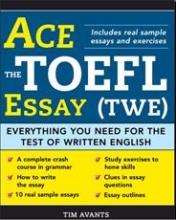 کتاب زبان (Ace the TOEFL Essay (TWE