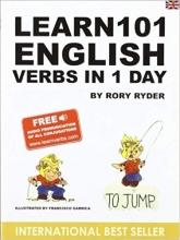 کتاب زبان Learn 101 English Verbs in 1 Day
