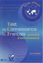 کتاب زبان Test de connaissance du Français (TCF) - Livre + CD audio