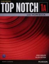 کتاب آموزشی تاپ ناچ ویرایش سوم Top Notch 1A with Workbook Third Edition