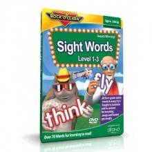 آموزش لغات متداول انگلیسی (SIGHT WORDS LEVEL 1-3 (ROCK N LEARN