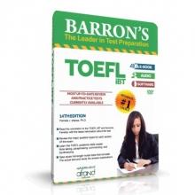 آمادگی آزمون تافل بارونز BARRON'S TOEFL IBT