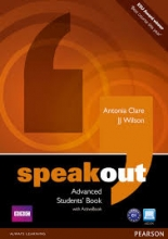 کتاب زبان (Speakout Advanced (SB+WB+DVD