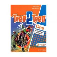 کتاب تین تو تین یک (Teen 2 Teen One (SB+WB+DVD