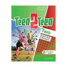 کتاب تین تو تین دو (Teen 2 Teen Two (SB+WB+DVD